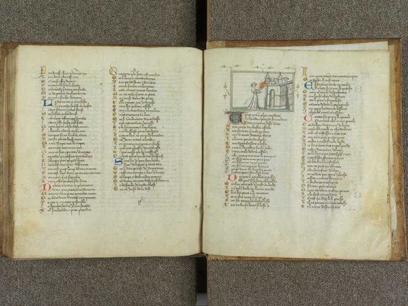 PARIS, Bibliothèque de l'Ecole des Beaux-Arts, Ms.Mas 0081, f. 152v - 153