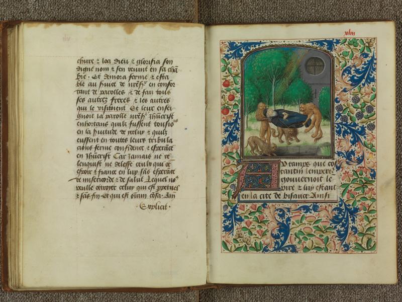 PARIS, Bibliothèque de l'Ecole des Beaux-Arts, Ms.Mas 0099, f. XLIv - XLIII (folio XLII n'existe pas)
