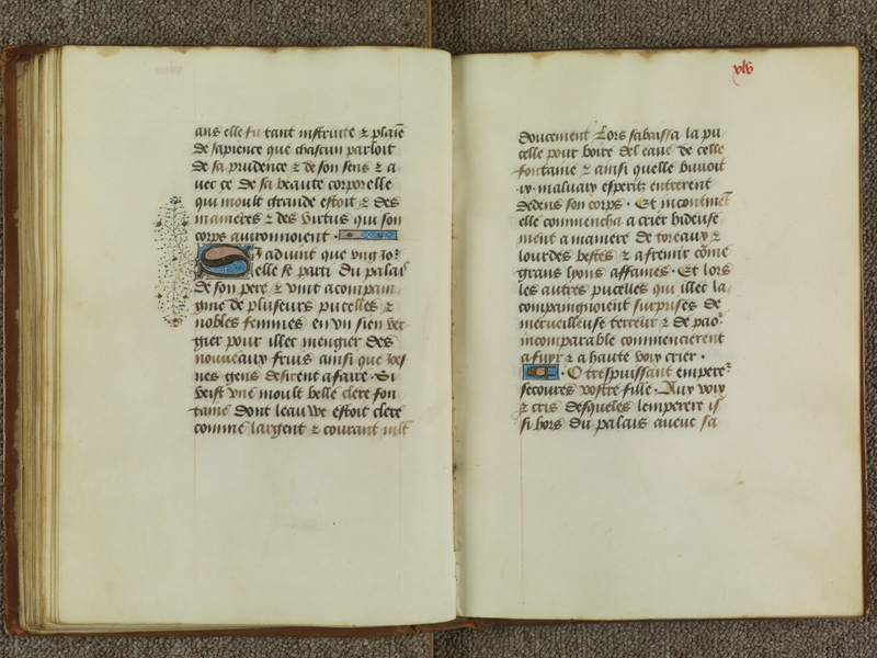PARIS, Bibliothèque de l'Ecole des Beaux-Arts, Ms.Mas 0099, f. XLIVv - XLV