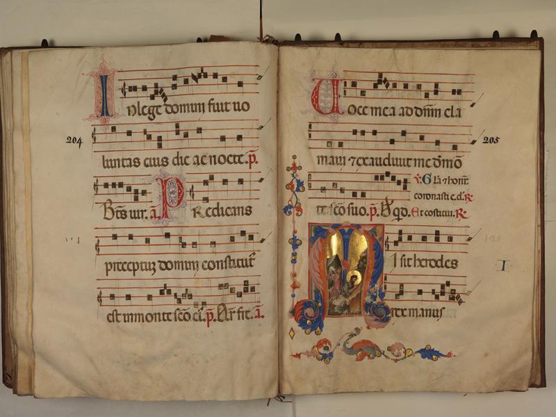 PARIS, Bibliothèque de l'Ecole des Beaux-Arts, Ms.Mas 0127, p. 204 - 205