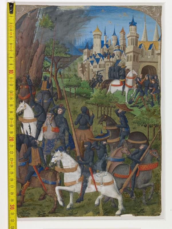 PARIS, Musée de Cluny, Cl. 00886, vue 1 avec réglet