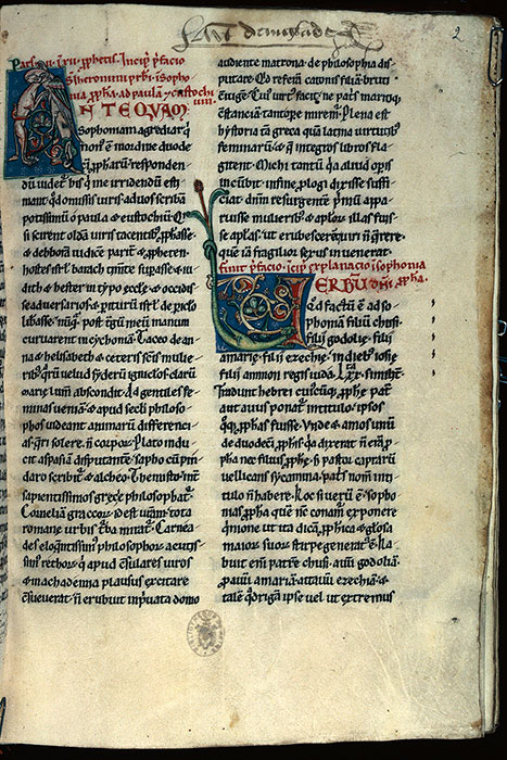Reims, Bibl. mun., ms. 0081, f. 002 - vue 1