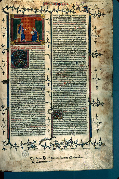 Reims, Bibl. mun., ms. 0179, f. 001 - vue 1