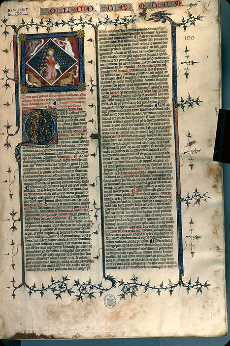 Reims, Bibl. mun., ms. 0180, f. 001 - vue 1
