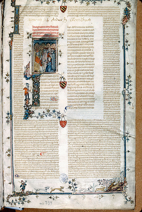 Reims, Bibl. mun., ms. 0739, f. 001 - vue 1