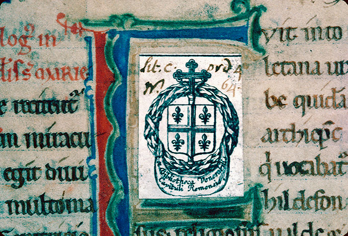 Reims, Bibl. mun., ms. 1399, f. 001 - vue 2