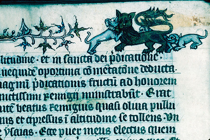 Reims, Bibl. mun., ms. 1418, f. 005v - vue 2
