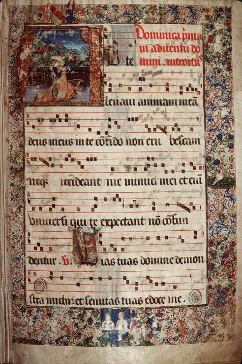 Saint-Dié, Bibl. mun., ms. 0074, f. 001 - vue 01
