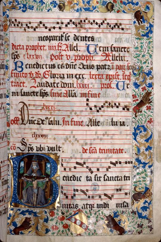 Saint-Dié, Bibl. mun., ms. 0074, f. 176 - vue 1