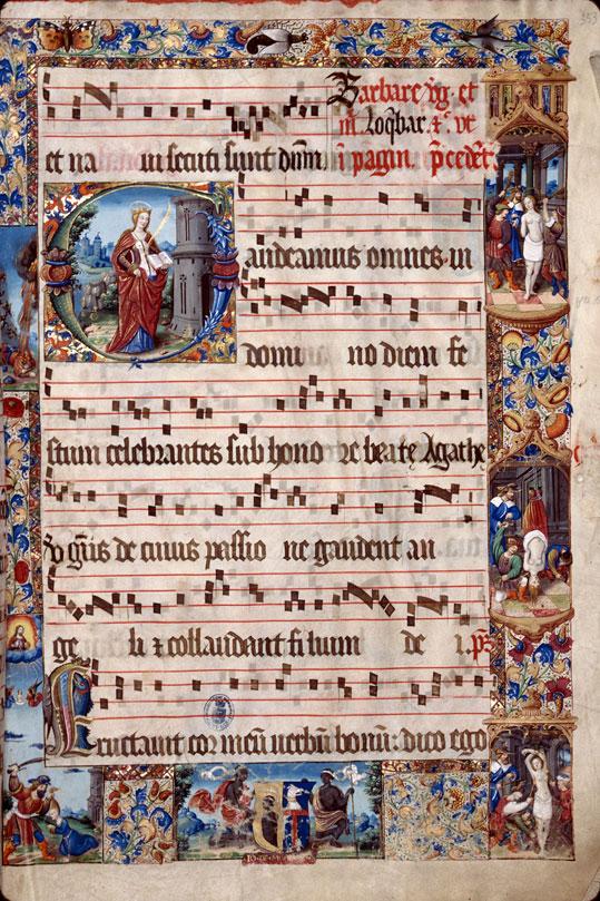 Saint-Dié, Bibl. mun., ms. 0074, f. 353 - vue 1
