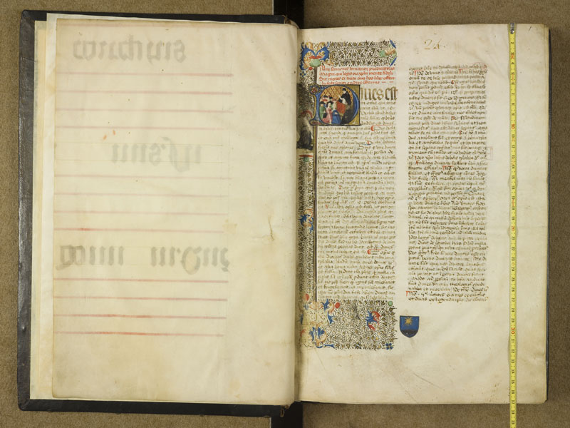 TOULOUSE, Bibliothèque municipale, 0346, f. 000Av - 001 avec réglet