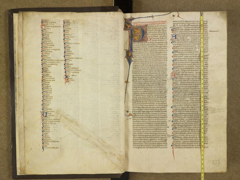 TOULOUSE, Bibliothèque municipale, 0378, f. 000Cv - 001 avec réglet