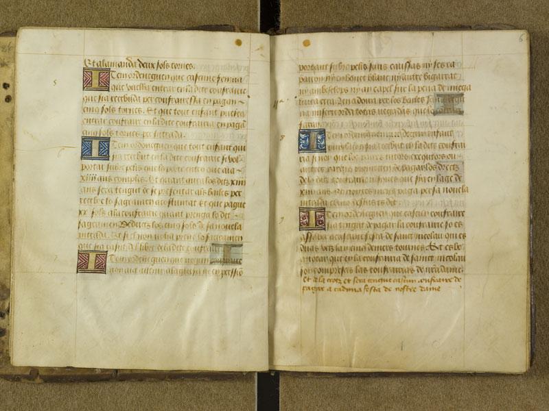 TOULOUSE, Bibliothèque municipale, 1567, f. 005v - 006