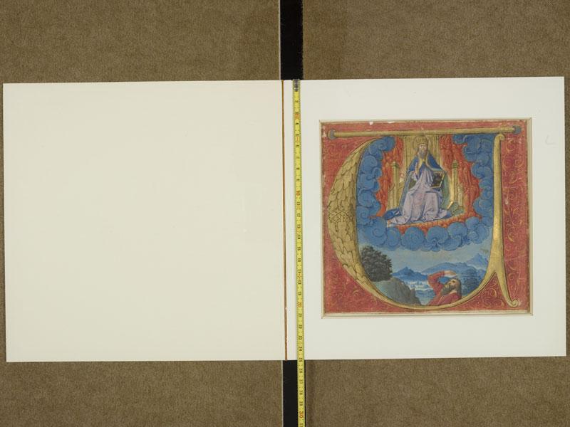 TOULOUSE, Bibliothèque municipale, 2993, contreplat supérieur - f. 001 avec réglet