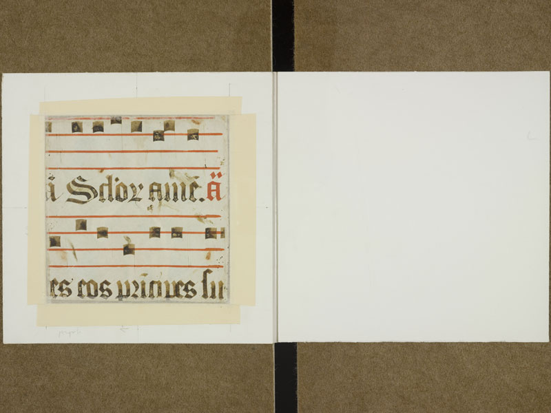 TOULOUSE, Bibliothèque municipale, 2994, f. 001v - contreplat inférieur